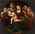 Piero di Cosimo - Virgin and Child with the Young Saint John the Baptist, Saint Cecilia, and Angels - 2007.77 - Art Institute of Chicago.jpg