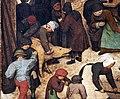Pieter bruegel il vecchio, censimento di betlemme, 1566, 06.JPG