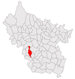 Location of Pietroasele