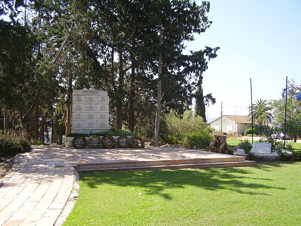 PikiWiki Israel 32297 Alexandroni Brigade memorial in Tantura