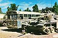 PikiWiki Israel 4231 Egged bus between Israeli tanks.jpg