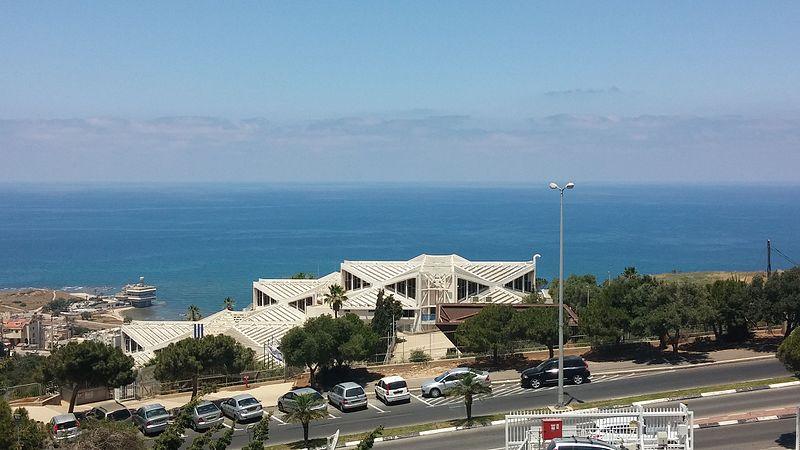 נוף חיפה ממכללת גורדון