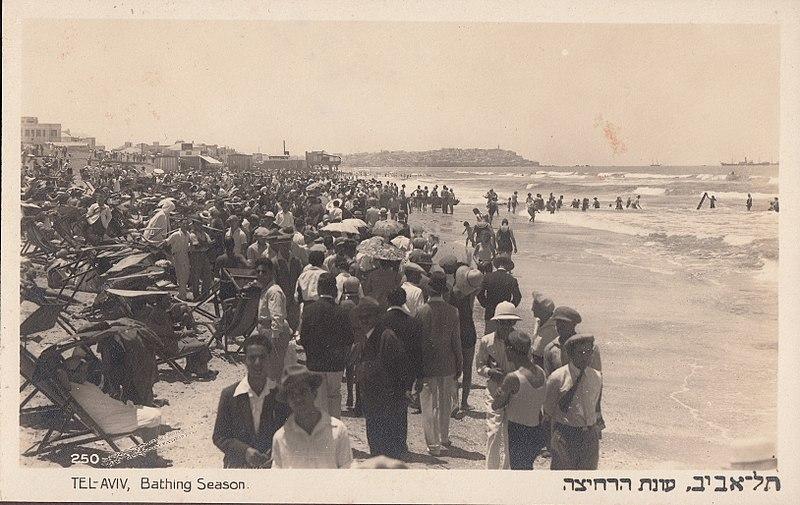 חוף תל אביב 1934