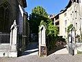 Piliers Passage Mgr Garnier et restaurant à Chambéry (juin 2017).JPG