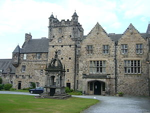 Pinkie House, now the main building of Loretto...