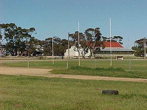 Mallee Football League (South Australia) - Pinnaroo Showgrounds, home of the Pinnaroo Supa Roos