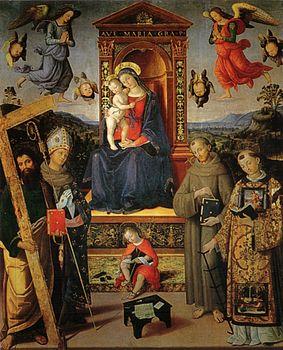Risultati immagini per chiesa di sant'andrea spello