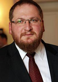 Piotr M.A. Cywiński, the director of the Auschwitz-Birkenau State Museum.jpg