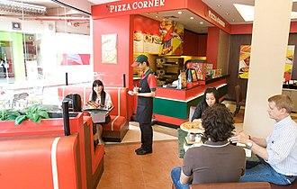 Pizza Corner - Image: Pizza corner store