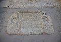 Placa commemorativa romana encastada al mur del palau arquebisbal, carrer de la Barcella de València.jpg