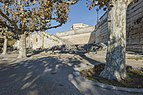 Place royale du Peyrou, right southwestern stairs 02.jpg