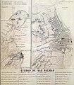 Plano de la ciudad de Las Palmas de 1849 por Francisco Coello.jpg