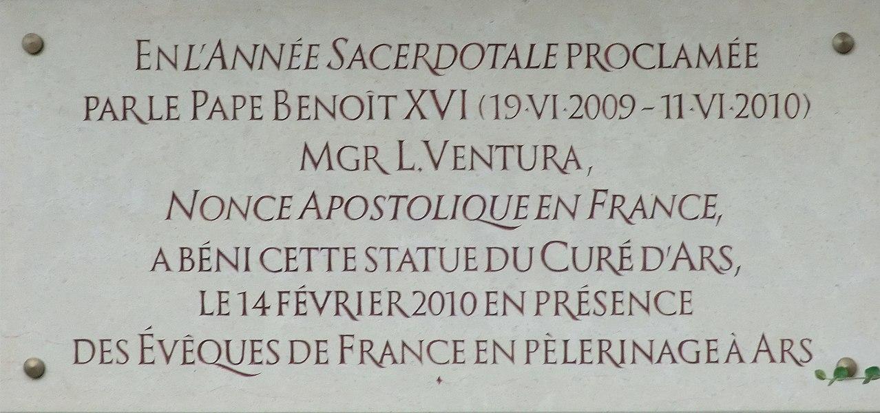 Presbytère du curé d'Ars.