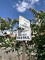 Plaques rue Division Leclerc avenue Raspail Gentilly Val Marne 1.jpg