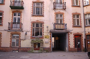 Warsaw Fotoplastikon - Courtyard location at the Hoserów Townhouse Apartment