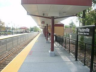 Plauderville station