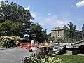 Plaza between Olin and Uris libraries Cornell University, Ithaca, NY, USA - panoramio.jpg
