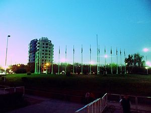 Ezeiza, Buenos Aires - Main square.