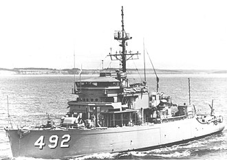 USS Pledge (MSO-492) - Image: Pledge (MSO 492)