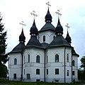 Pliasheva Radyvylivskyi Rivnenska-Georgiivska church-back view.jpg