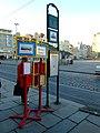Plzeň, náměstí Republiky, zastávka.jpg