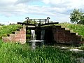 Pocklington Canal Lock at Walbut Bridge - geograph.org.uk - 179541.jpg