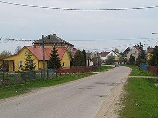 Trypucie Village in Podlaskie Voivodeship, Poland
