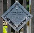 Poertschach Schild Villa Almrausch 01.jpg