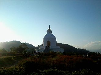 Pokhara - World peace pagoda
