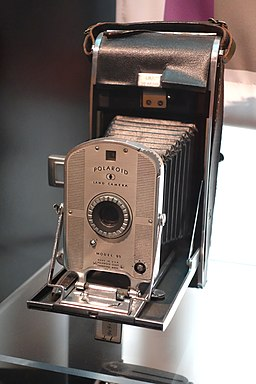Polaroid Land Camera Model 95 - MIT Museum - DSC03766