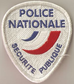 Central Directorate of Public Security - Patch of the Direction centrale de la Sécurité publique