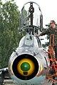Polish Su-22 at Świdwin Air Picnic 2012 front close up open canopy.jpg