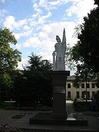Pomnik św.Floriana w Rynku (Wieruszów).JPG