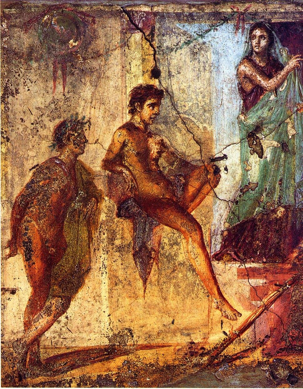 Pompeii - Casa del Centenario - Orest