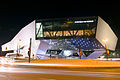 Porsche Museum at night 2013 March.jpg