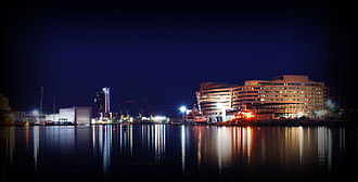 Port of Barcelona - Port of Barcelona at Night