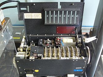 Portex - Portex on display at Bletchley Park Museum, UK.