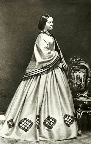 Sophie Adlersparre - Sophie Adlersparre, photograph by Bertha Valerius (1860s)