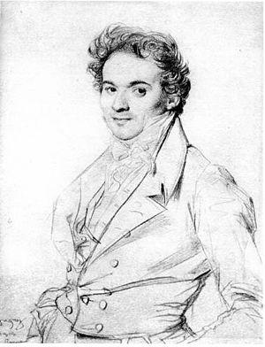 Jean Alaux - Jean Alaux (1818) by Ingres
