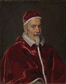 Portrait du Pape Clément X, par Giovanni Battista Gaulli (Baciccio) - Metropolitan Museum of Art.jpg