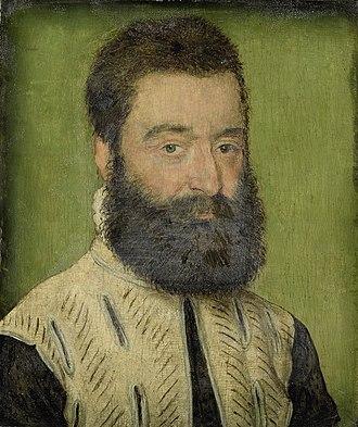 Barthélémy Aneau - Portrait of Barthélémy Aneau (1545)