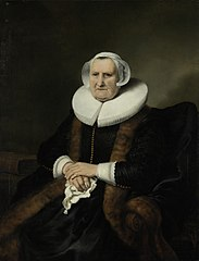 Portrait of an Old Lady, Possibly Elisabeth Bas
