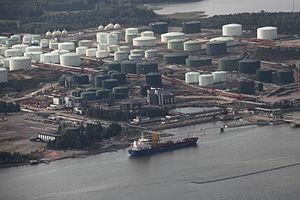 Porvoo refinery from air.jpg
