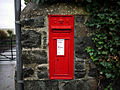 Postbox, Donaghadee - geograph.org.uk - 1592917.jpg