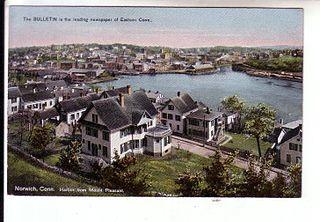 Neighborhoods of Norwich, Connecticut