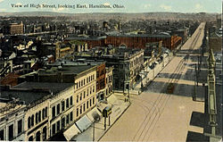 High Street, looking east, c. 1911