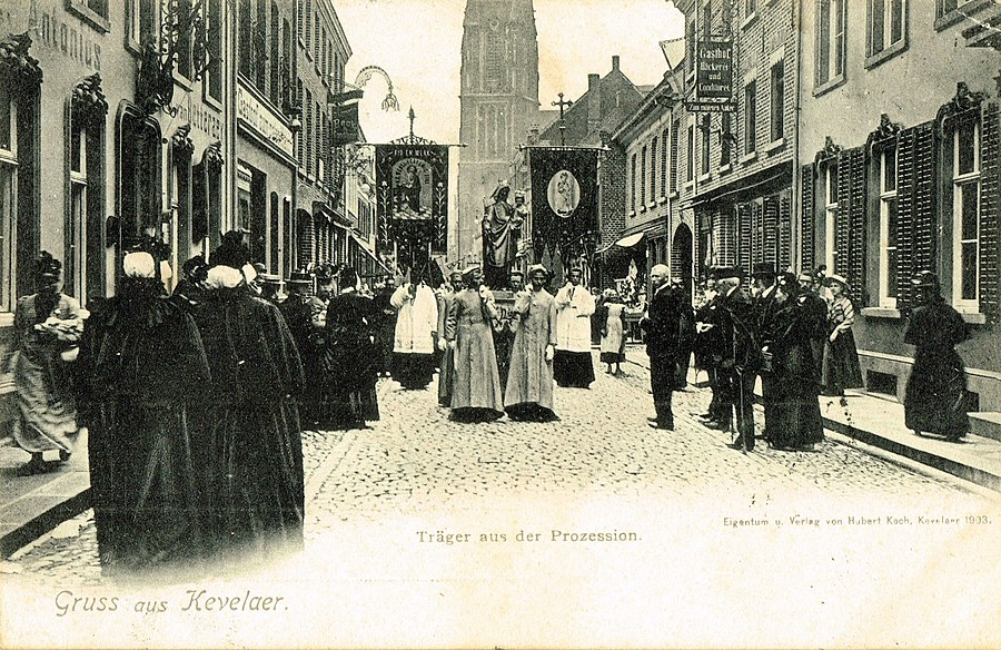 Postcard of Kevelaer published in or before 1905