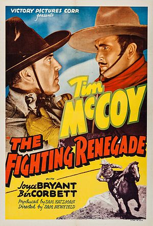 The Fighting Renegade - Theatrical release poster