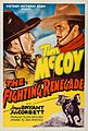"""Poster of the movie """"The Fighting Renegade"""".jpg"""