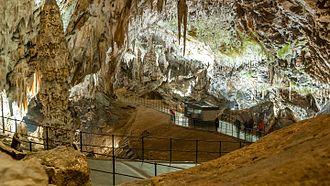 Postojna Cave - Passage in Postojna Cave